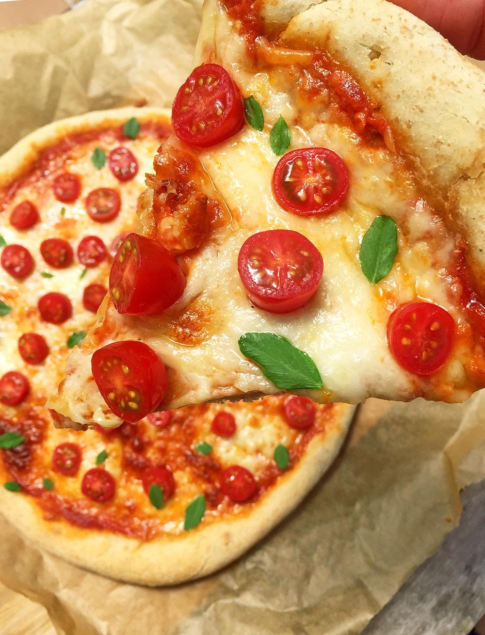 Receta masa de pizza casera