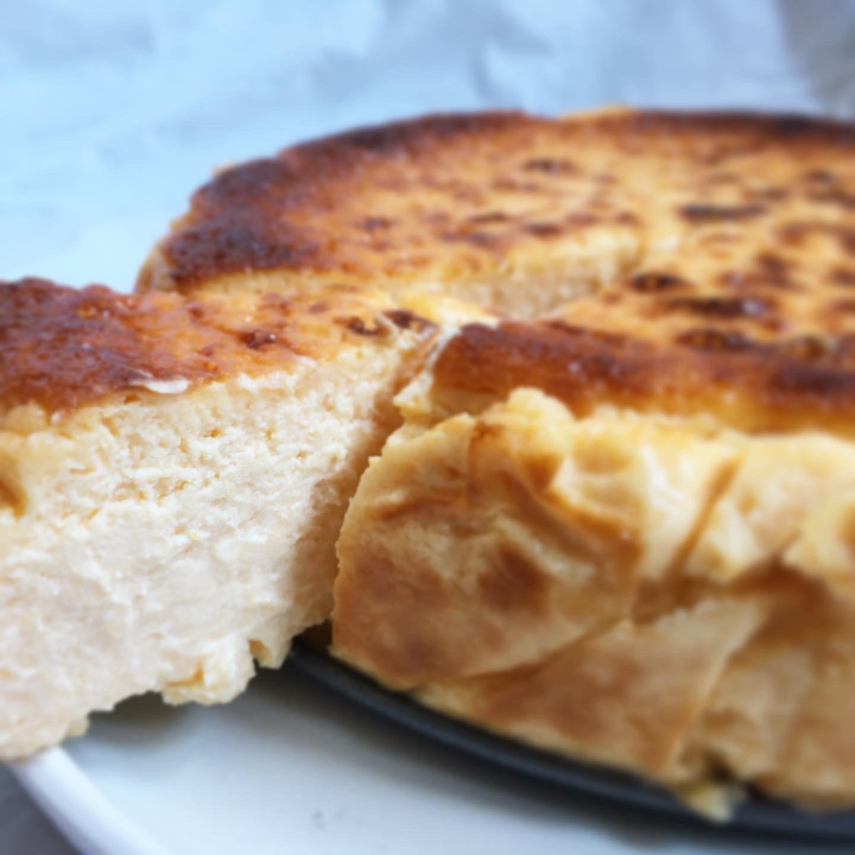 Receta de tarta de queso y calabaza asada fácil y muy sabrosa