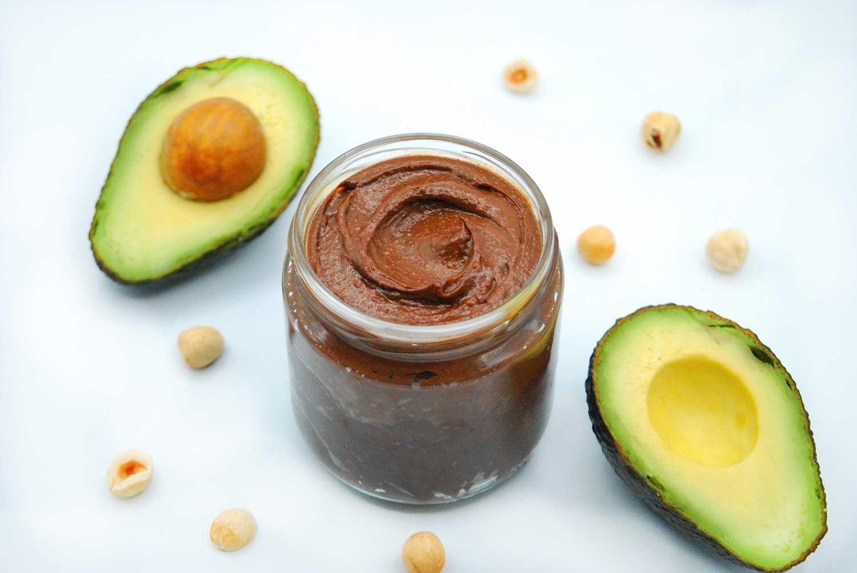 Receta crema de cacao con aguacate