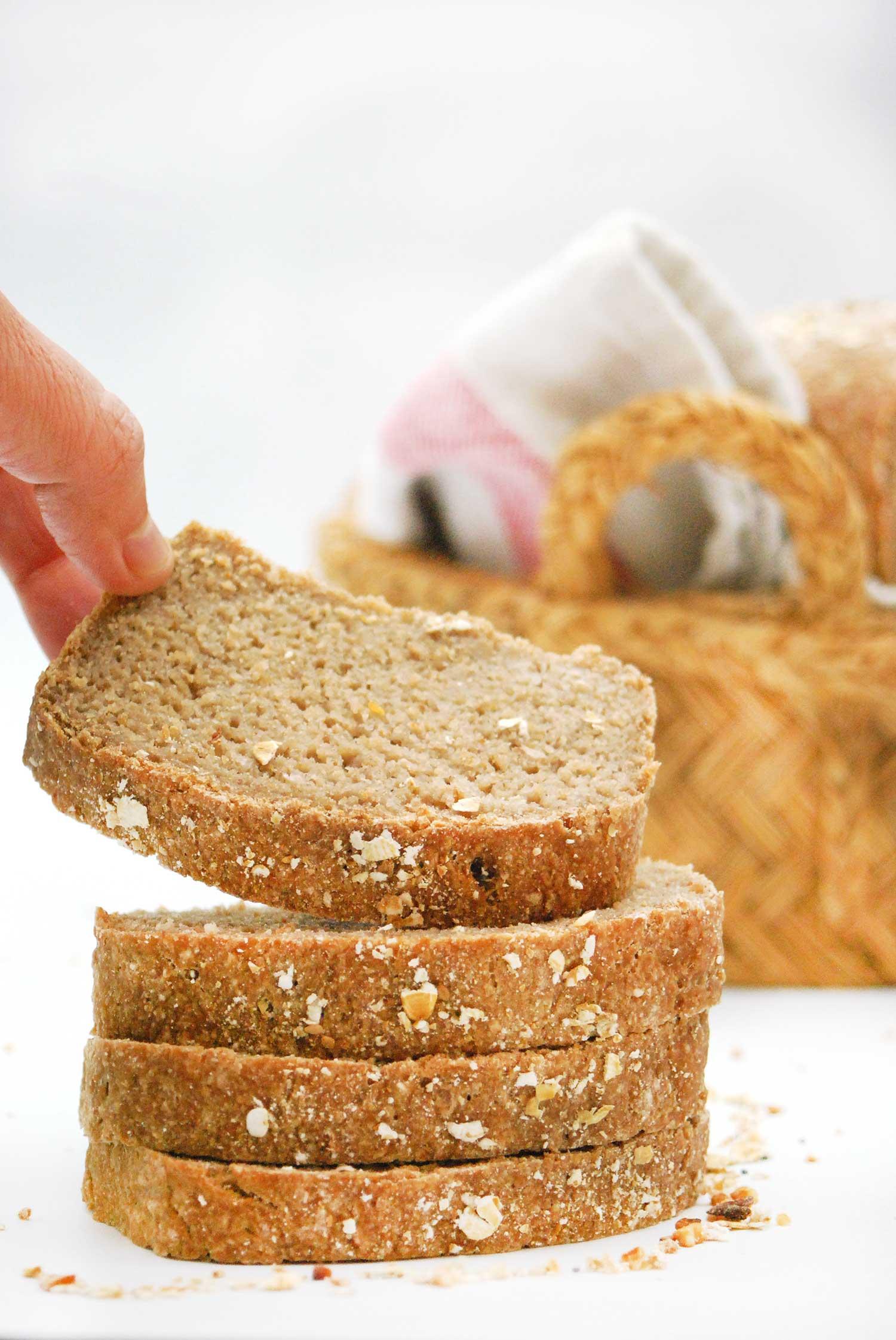 Pan sin gluten delicioso y saludable