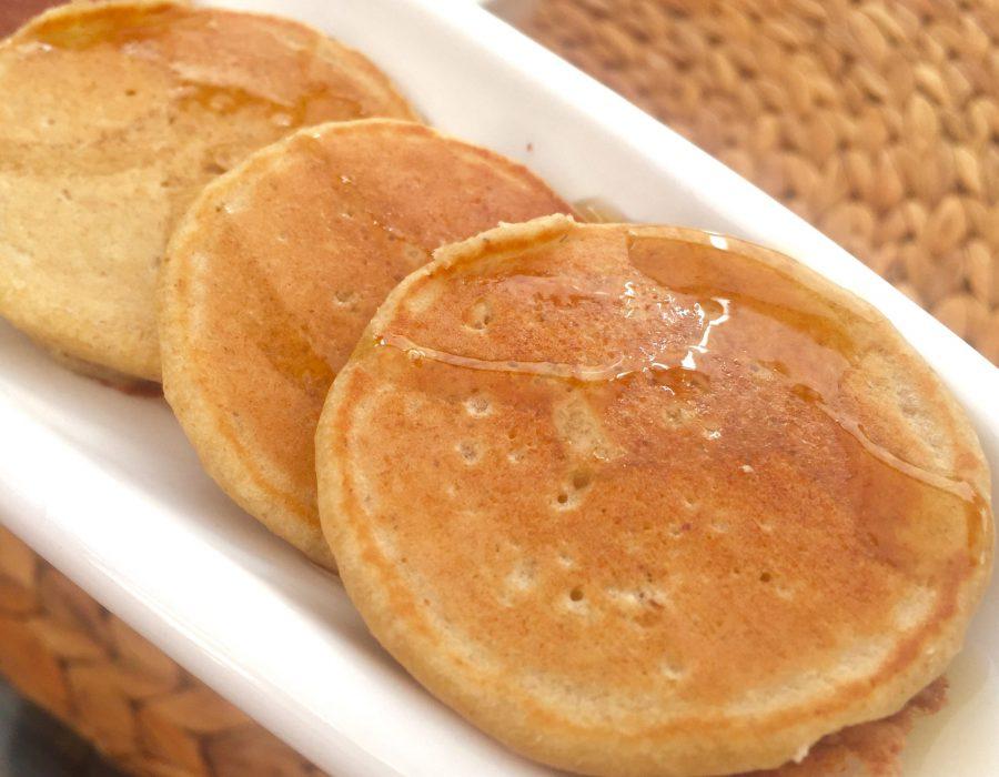 Receta de tortitas de coco y miel