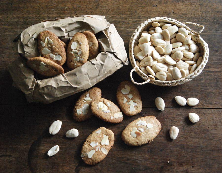 Receta galletas de almendras crujientes