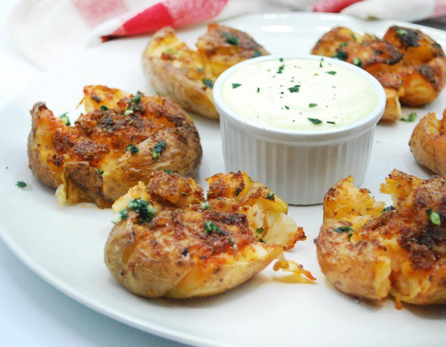 Receta patatas al horno crujientes